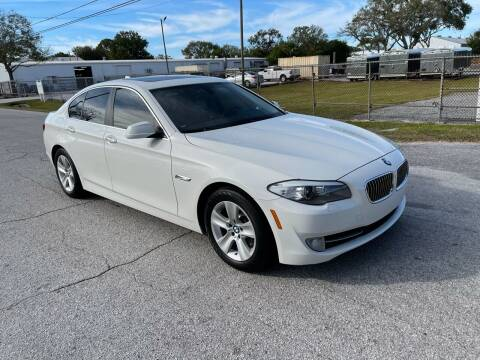 2013 BMW 5 Series for sale at Ultimate Autos of Tampa Bay LLC in Largo FL