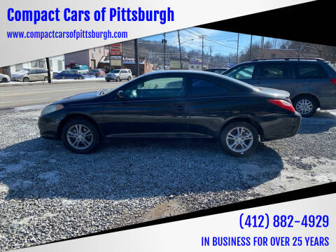 2005 Toyota Camry Solara for sale at Compact Cars of Pittsburgh in Pittsburgh PA
