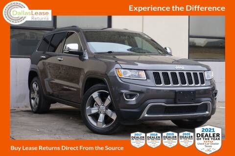 2015 Jeep Grand Cherokee for sale at Dallas Auto Finance in Dallas TX