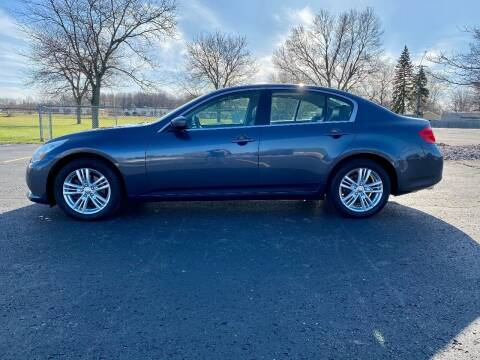2012 Infiniti G37 Sedan for sale at Caruzin Motors in Flint MI