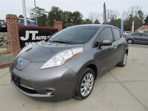 2015 Nissan LEAF for sale at J T Auto Group in Sanford NC