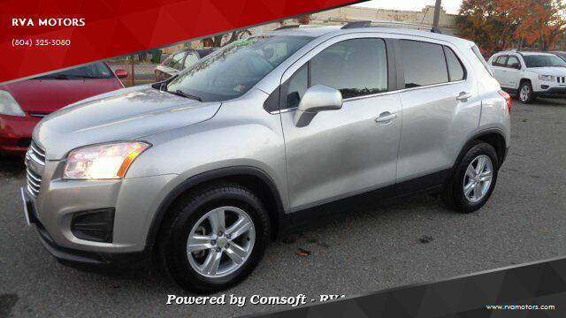2016 Chevrolet Trax for sale at RVA MOTORS in Richmond VA
