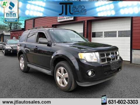 2012 Ford Escape for sale at JTL Auto Inc in Selden NY