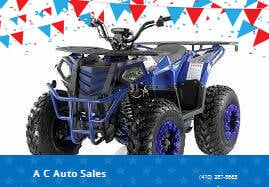 2021 APOLLO 0429 COMMANDER 200CC for sale at A C Auto Sales in Elkton MD