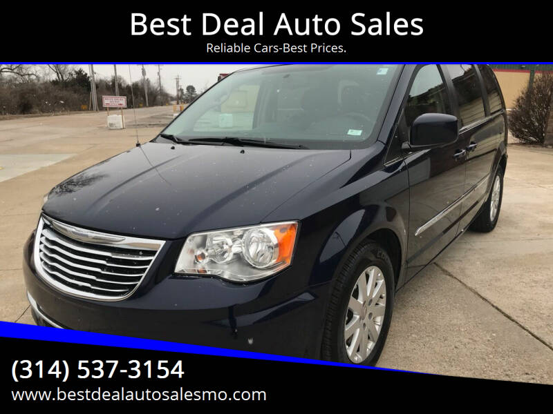 2015 Chrysler Town and Country for sale at Best Deal Auto Sales in Saint Charles MO
