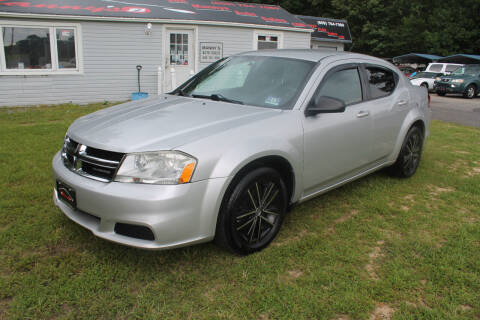 2011 Dodge Avenger for sale at Manny's Auto Sales in Winslow NJ