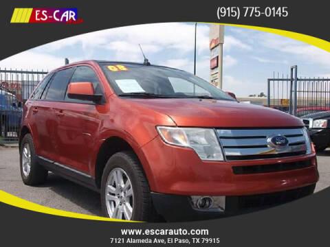 2008 Ford Edge for sale at Escar Auto in El Paso TX