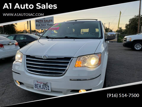 2010 Chrysler Town and Country for sale at A1 Auto Sales in Sacramento CA
