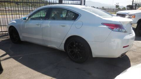 2014 Acura TL for sale at Luxor Motors Inc in Pacoima CA