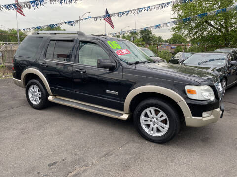 2006 Ford Explorer for sale at Riverside Wholesalers 2 in Paterson NJ