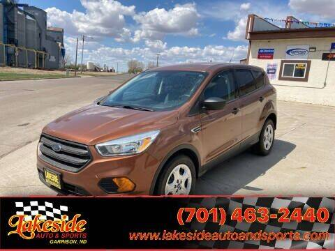 2017 Ford Escape for sale at Lakeside Auto & Sports in Garrison ND