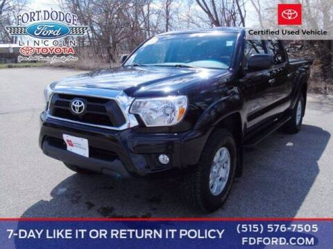 2015 Toyota Tacoma for sale at Fort Dodge Ford Lincoln Toyota in Fort Dodge IA