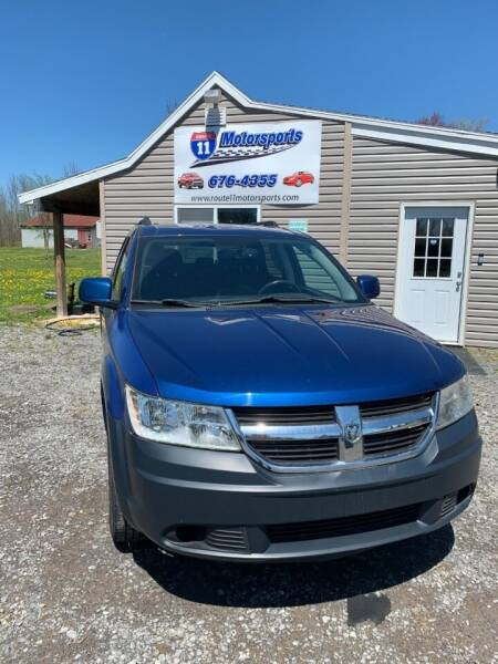 2010 Dodge Journey for sale at ROUTE 11 MOTOR SPORTS in Central Square NY