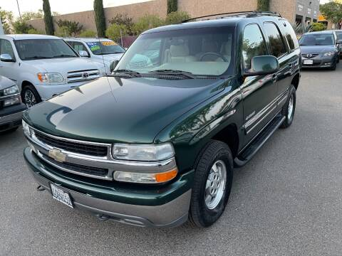 2001 Chevrolet Tahoe for sale at C. H. Auto Sales in Citrus Heights CA