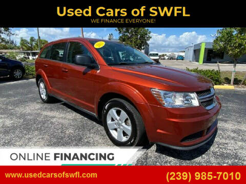 2013 Dodge Journey for sale at Used Cars of SWFL in Fort Myers FL