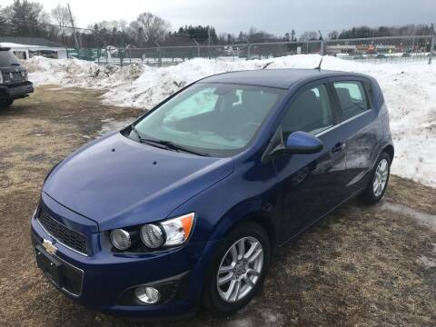 2013 Chevrolet Sonic for sale at RJD Enterprize Auto Sales in Scotia NY