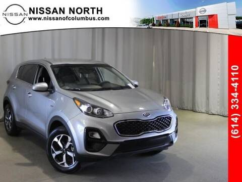 2020 Kia Sportage for sale at Auto Center of Columbus in Columbus OH
