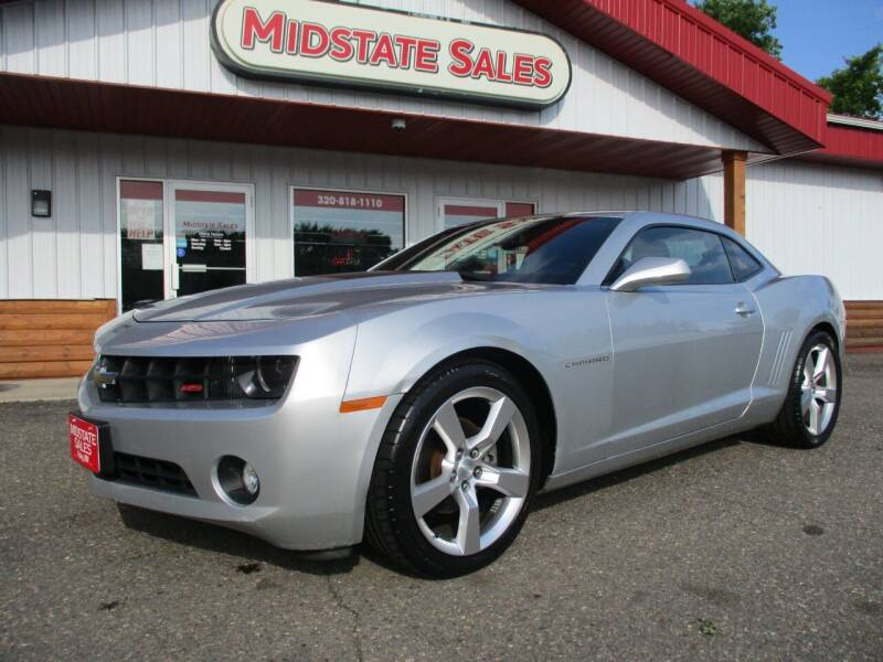 2012 Chevrolet Camaro for sale at Midstate Sales in Foley MN
