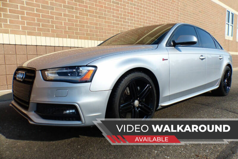 2015 Audi S4 for sale at Macomb Automotive Group in New Haven MI