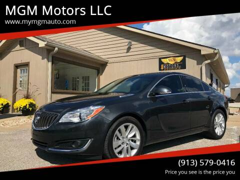 2016 Buick Regal for sale at MGM Motors LLC in De Soto KS