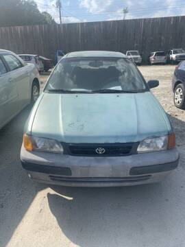 1995 Toyota Tercel for sale at J D USED AUTO SALES INC in Doraville GA