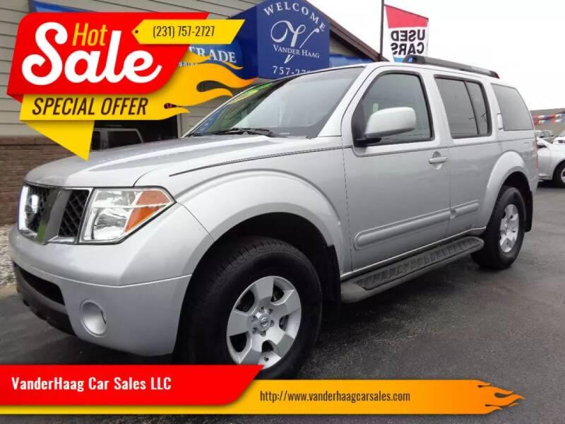 2006 Nissan Pathfinder for sale at VanderHaag Car Sales LLC in Scottville MI