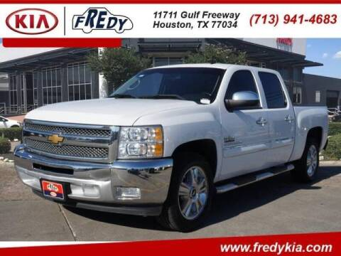 2013 Chevrolet Silverado 1500 for sale at FREDYS CARS FOR LESS in Houston TX