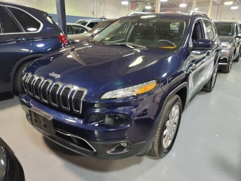 2014 Jeep Cherokee for sale at AW Auto & Truck Wholesalers  Inc. in Hasbrouck Heights NJ