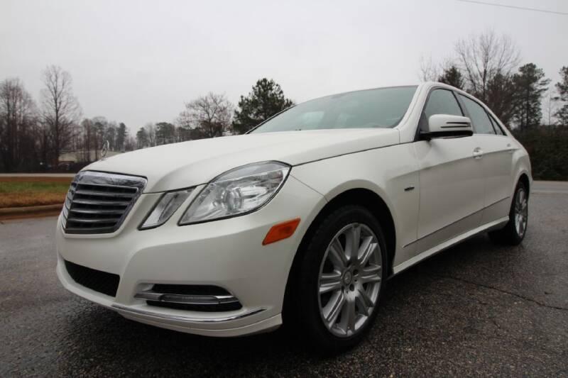 2012 Mercedes-Benz E-Class for sale at Oak City Motors in Garner NC