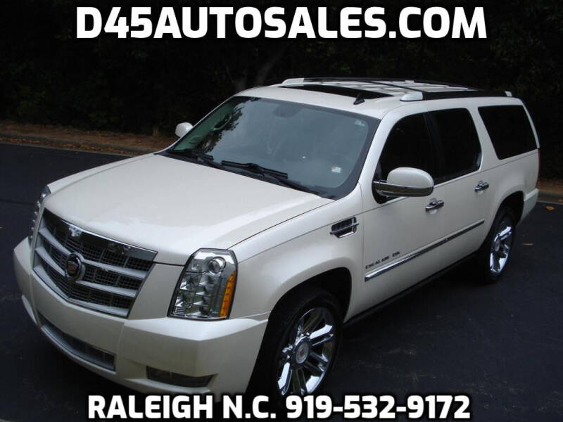 2013 Cadillac Escalade ESV for sale at D45 Auto Brokers in Raleigh NC