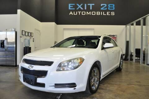 2010 Chevrolet Malibu for sale at Exit 28 Auto Center LLC in Cornelius NC