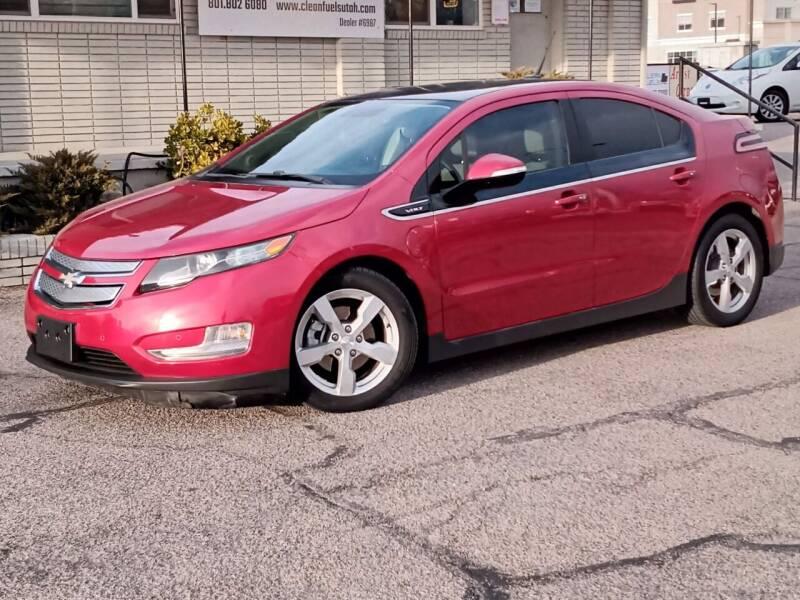 2012 Chevrolet Volt for sale at Clean Fuels Utah in Orem UT