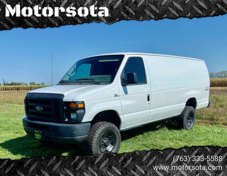 2009 Ford E-350 for sale at Motorsota in Becker MN
