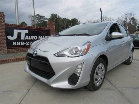 2016 Toyota Prius c for sale at J T Auto Group in Sanford NC