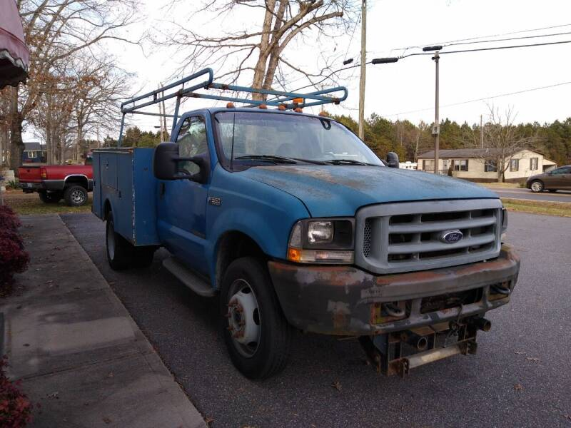 2002 Ford F-550 Super Duty for sale at Bethlehem Auto Sales LLC in Hickory NC