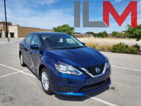 2019 Nissan Sentra for sale at INDY LUXURY MOTORSPORTS in Fishers IN