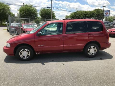 2000 Nissan Quest for sale at Mike's Auto Sales of Charlotte in Charlotte NC