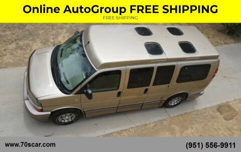 2005 Chevrolet Chevy Van for sale at Online AutoGroup FREE SHIPPING in Riverside CA