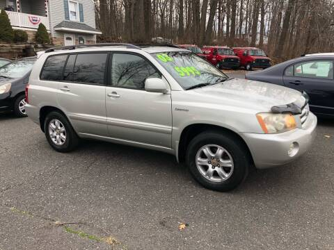 2003 Toyota Highlander for sale at 22nd ST Motors in Quakertown PA