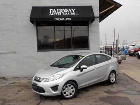 2013 Ford Fiesta for sale at FAIRWAY AUTO SALES, INC. in Melrose Park IL