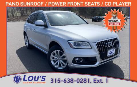 2014 Audi Q5 for sale at LOU'S CAR CARE CENTER in Baldwinsville NY