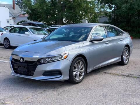 2018 Honda Accord for sale at Tonny's Auto Sales Inc. in Brockton MA