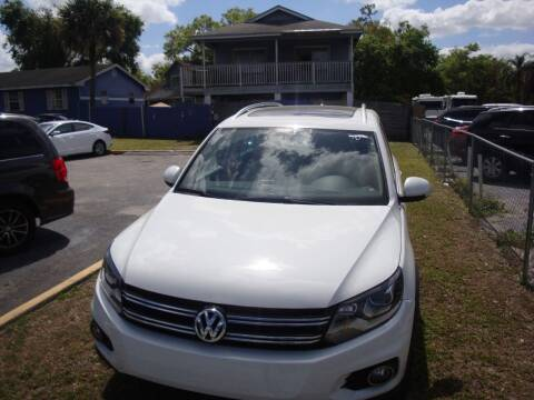 2017 Volkswagen Tiguan for sale at Mikano Auto Sales in Orlando FL