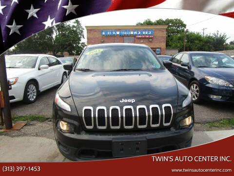 2015 Jeep Cherokee for sale at Twin's Auto Center Inc. in Detroit MI