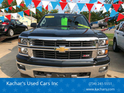 2014 Chevrolet Silverado 1500 for sale at Kachar's Used Cars Inc in Monroe MI