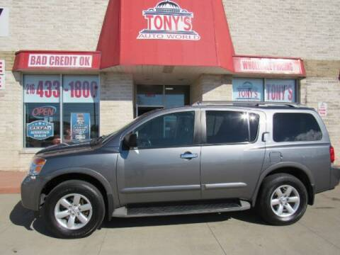2015 Nissan Armada for sale at Tony's Auto World in Cleveland OH