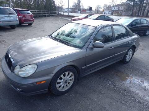 2004 Hyundai Sonata for sale at Official Auto Sales in Plaistow NH
