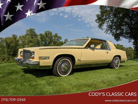 1980 Cadillac Eldorado Biarritz for sale at Cody's Classic Cars in Stanley WI