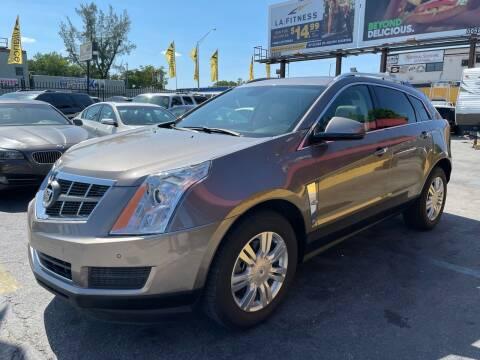 2012 Cadillac SRX for sale at AUTO ALLIANCE LLC in Miami FL
