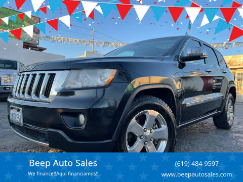 2011 Jeep Grand Cherokee for sale at Beep Auto Sales in National City CA